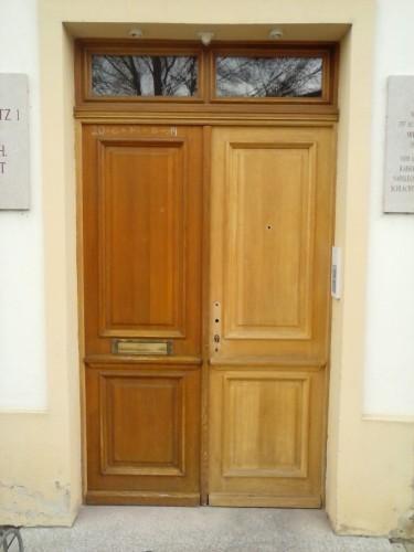 Pfarrhof-Türe restaurieren
